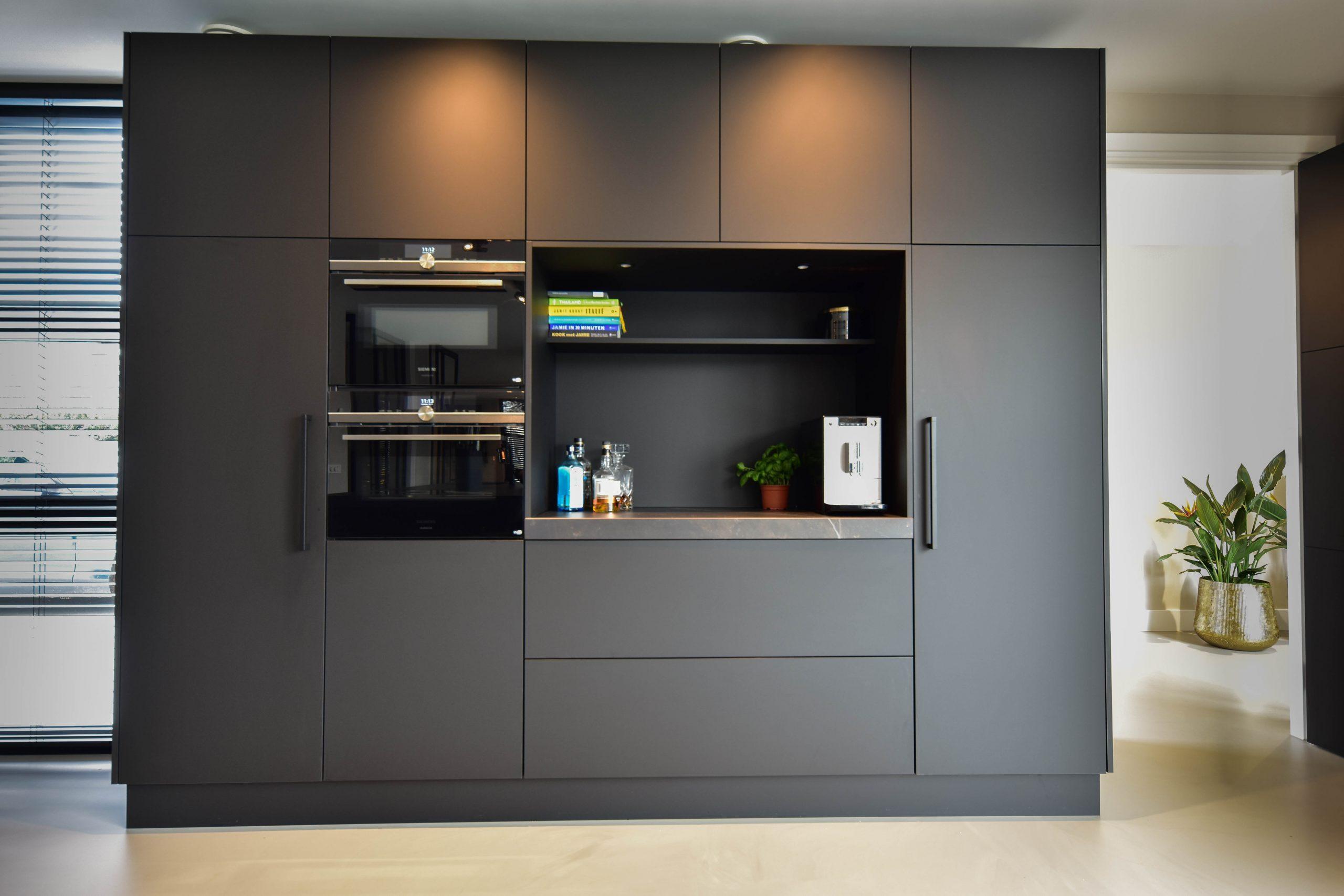 Apparatenwand keuken - Lemmens interieurs